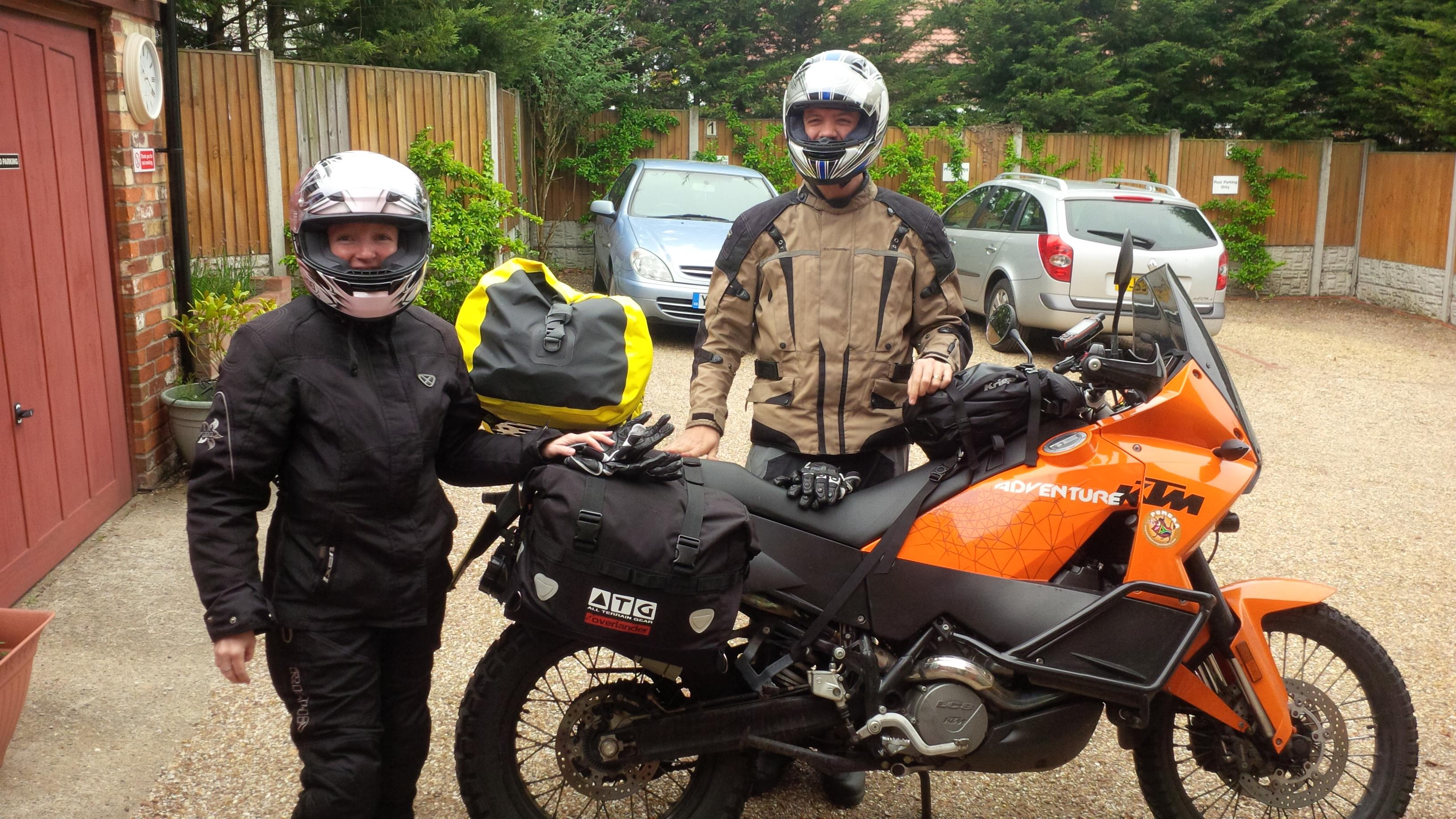 Farewell to the intrepid Bikers